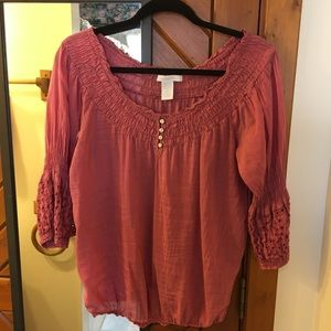 Peasant blouse (Charlotte Russell)